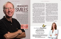 Real patient featured in magazine article